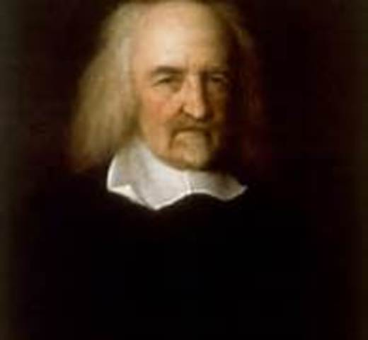 Thomas Hobbes outlines the social contract in Leviathan