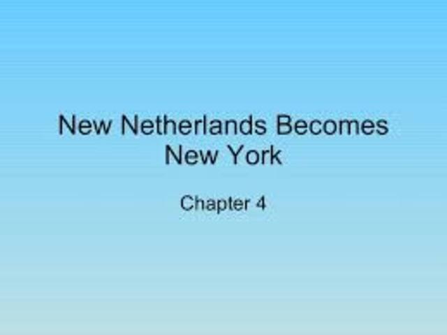 King Charles takes New Netherland
