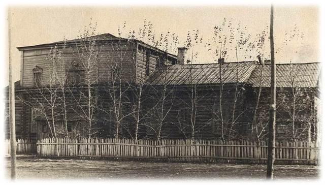 Горская средняя школа для детей посёлка Гусарский городок (50-е годы)