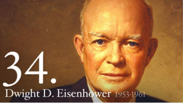 Dwight Eisenhower is elected president