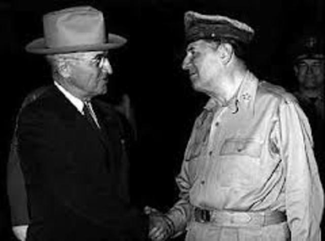 Truman Relieves MacArthur of Duties