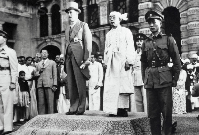 Burma Becomes Independent