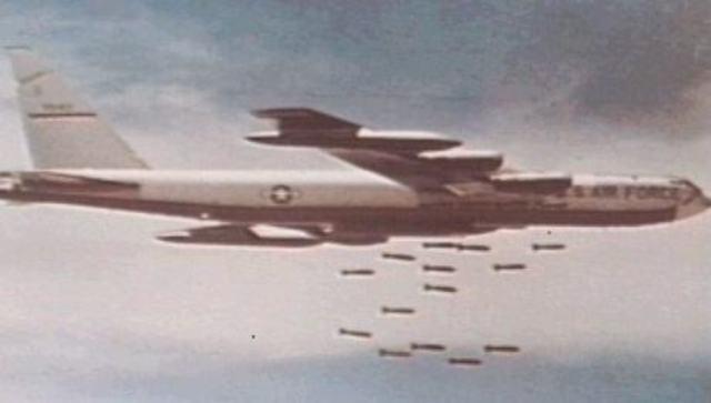 B-52's Bomb North Vietnam