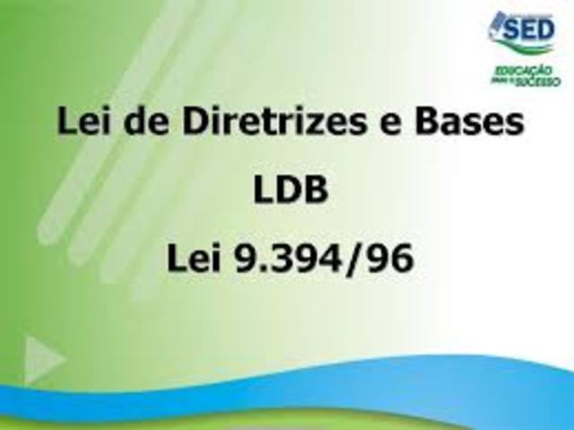 Lei 9.394 , Lei de Diretrizes e Bases (LDB)