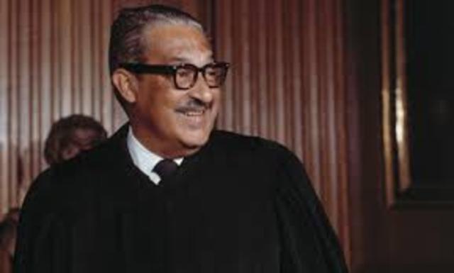 Thurgood Marshall, US Supreme Court of Justice Judge