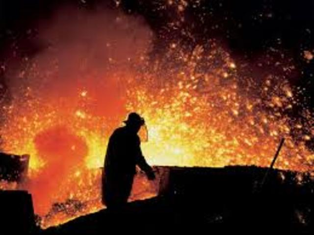 20, 000 Steel Workers Strike