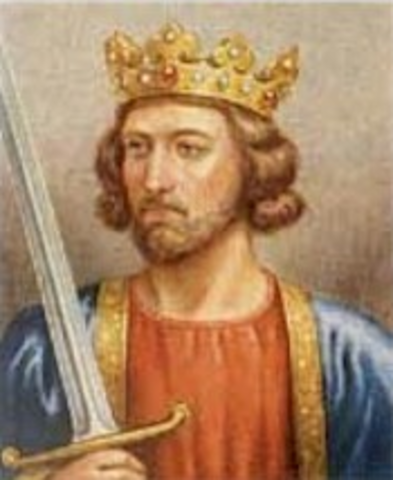 Beginning of the Reign of Edward I
