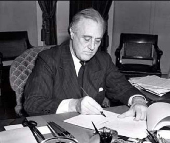 Passing of the Lend-Lease Bill