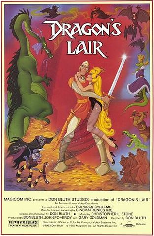 Dragon Lair by Cinematronics
