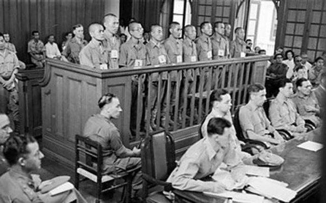 Japanese War Trials End