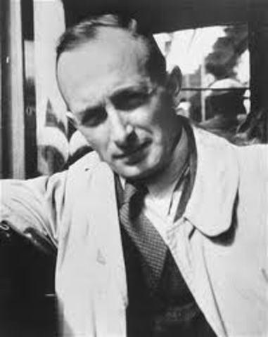 Adolf Eichmann was Sentenced to Death