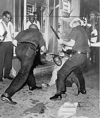 Harlem Race Riot Begins