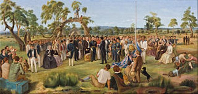 South Australia proclaimed
