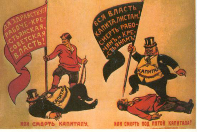 Russian Marxist Split into 2 Groups.