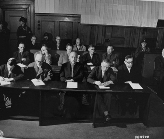 Nazi Doctors Trial-Found Guilty