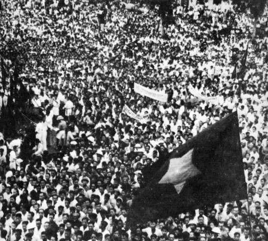Ho Chi Minh Declares Vietnam Independent