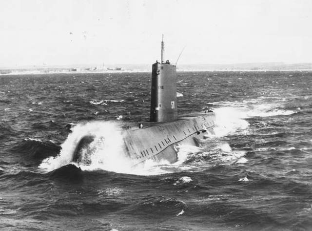 First Nuclear Submarine launched