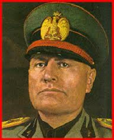 Benito Mussolini is executed