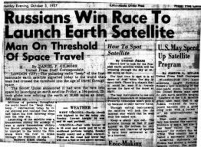 Launch date of Sputnik