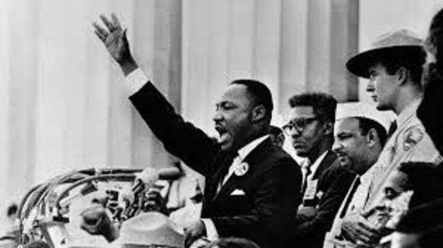 "MLK gives ""I Have a Dream"" Speech"