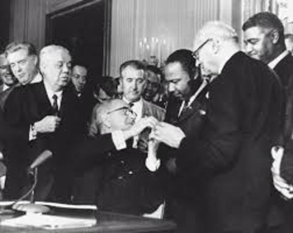Civil Rights Act Passes in U.S.