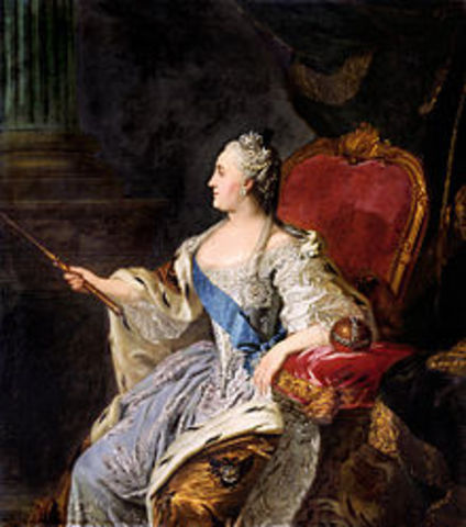 when did catherine the great puts down the serf rebellion