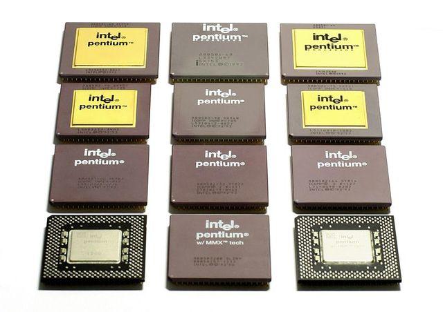 Выпуск процессора Pentium