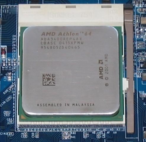 Представление 64-разрядного процессора Athlon 64