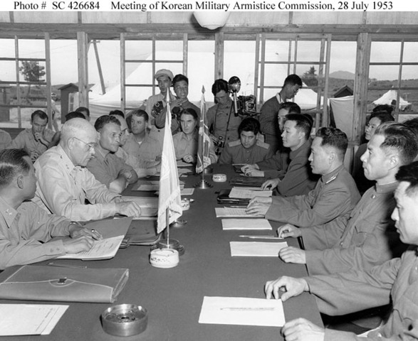 Korean Armistice Signed