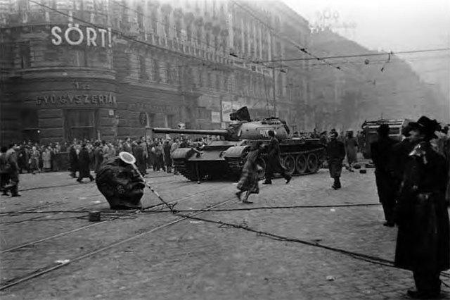 Hungarian Revolution Begins