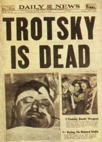 Trotsky Assasinated