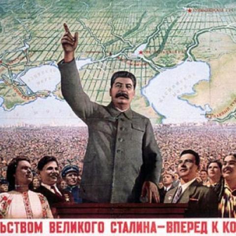 Stalin wins the power struggle against Trotsky