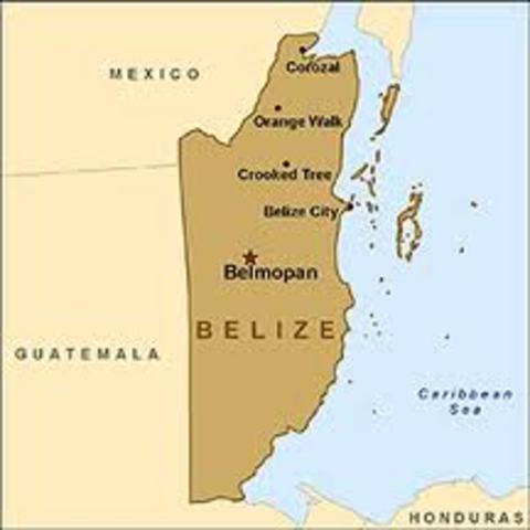 la diferensia entre guatemala yreino unido se arrejlo en la frontera de belize