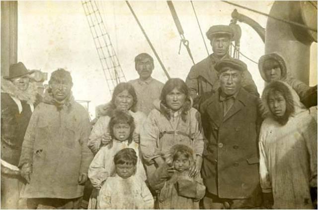 Торговые операции с жителями Аляски и Чукотки