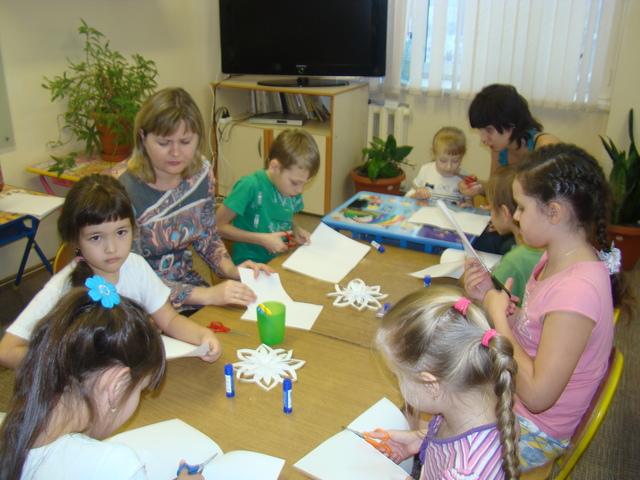 Мастер-класс для детей больницы им.М.И.Калинина