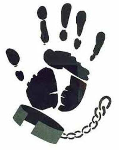 la esclabitud fue abolida