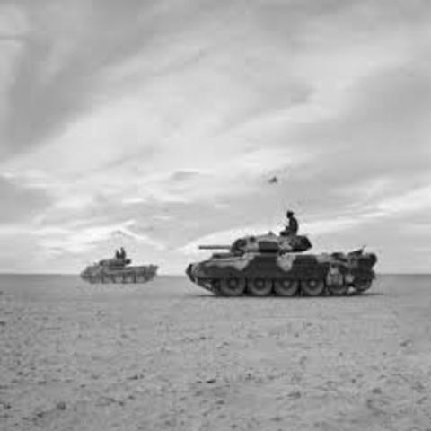 El Alamein (First Battle) Ends