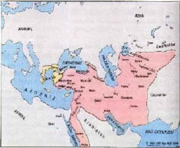 The Seljuk Turks Attack the Byzantine Empire
