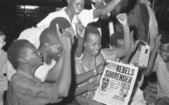 Biafra Surrenders