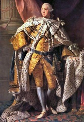 George III becomes the King of Great Britain