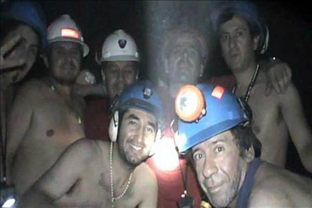 Los mineros quedaron atrapados de nuevo