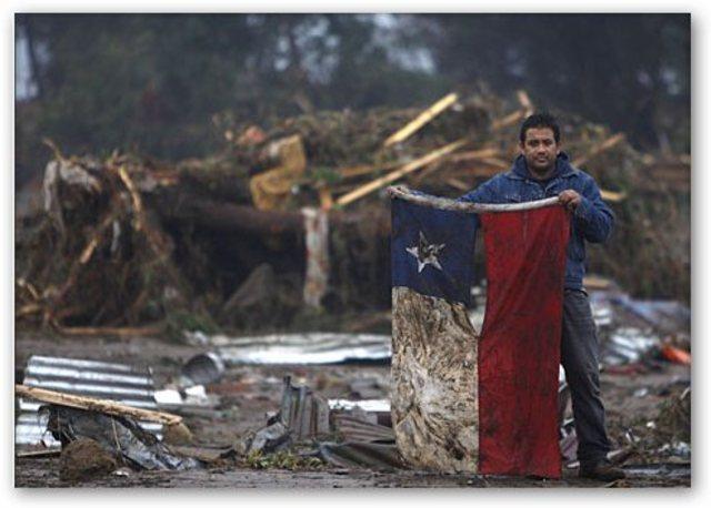 Cancelan alerta de Tsunami pero siguen las replicas en Chile