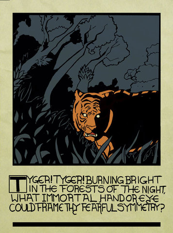 """""""The Tyger"""" by William Blake"""