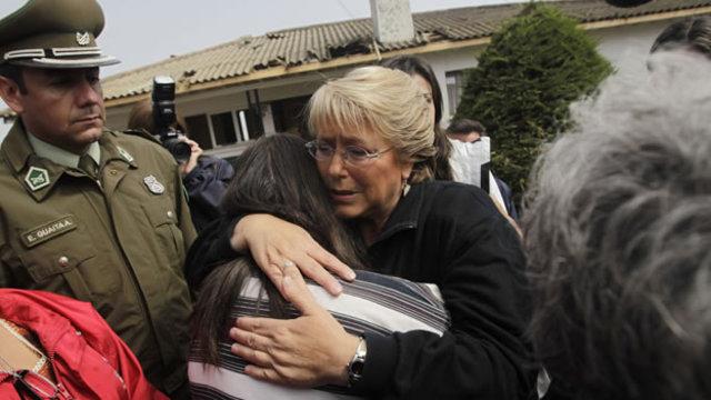 Michelle Bachelet y un comienzo duro de mandato