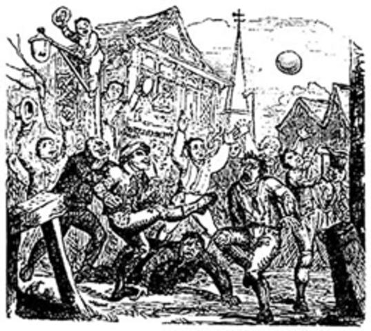 Antepasados del fútbol