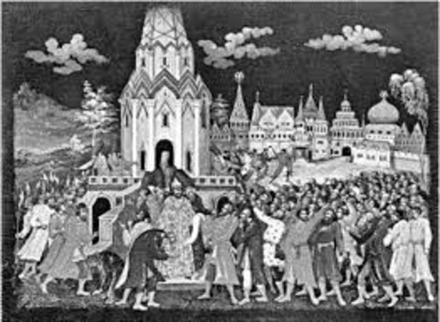 1648 год, Соляной бунт, или Московское восстание — массовое выступление низших и средних слоёв посадских людей, стрельцов, холопов 1 — 11 июня 1648 года в Москве.