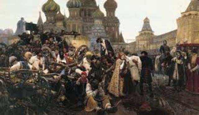 Хованщина — восстание стрельцов и солдат