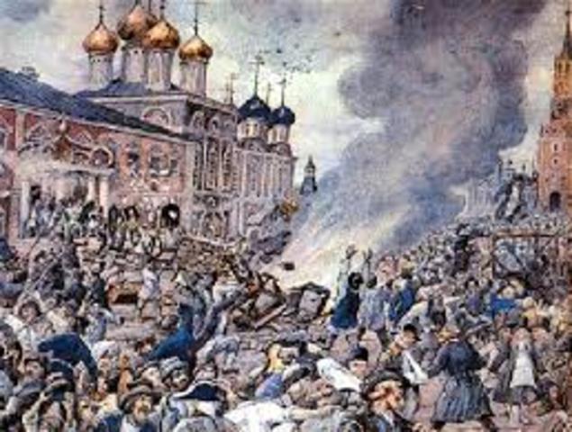 Стрелецкое восстание — восстание московских стрелецких полков
