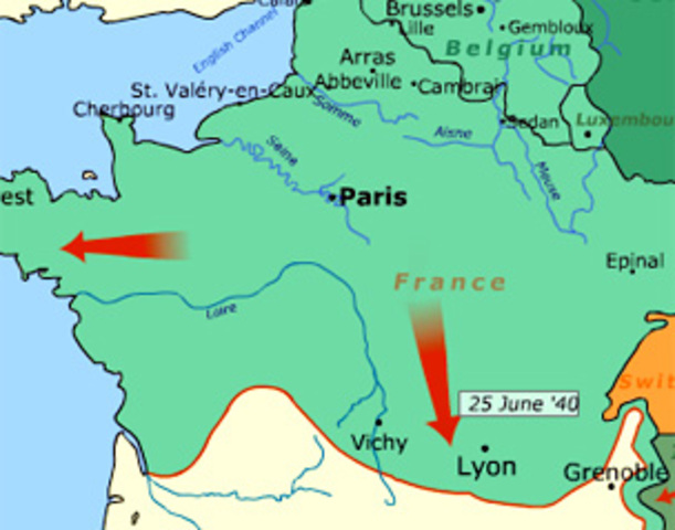 Germans Invade Southern France