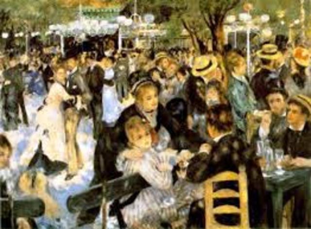 Ρενουαρ - Χορός στο ''Moulin de la Galette'' (1876)